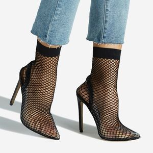 Shoe Dazzle Mesh Hight Heel Shoes